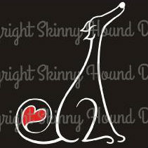 Heart In Tail Decal