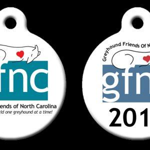 2017 GFNC Membership Dog Tag
