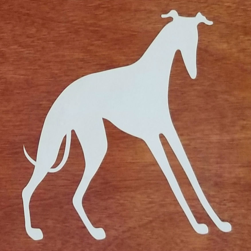 Standing Decal